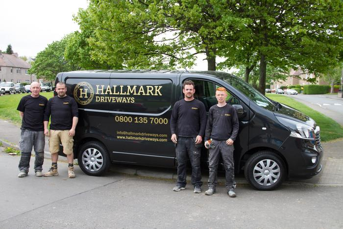 The Hallmark Driveways team, committed to bring you the highest quality solutions for your home and garden